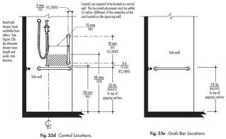 Bathroom Stall Dividers Dimensions by Controls And Accessories For Shower And Bathtub Ada