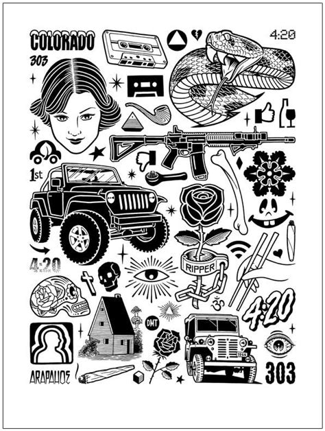 Mike Giant | Black Book Gallery | Tattoo drawings, Tattoos, Sleeve tattoos
