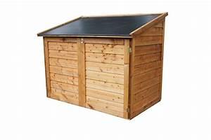 Coffre De Jardin : coffre de jardin en bois avec toit en polypropyl ne ~ Teatrodelosmanantiales.com Idées de Décoration