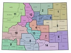 Colorado Counties Map