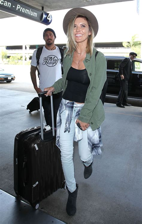 Audrina Patridge Airport Style Lax Los Angeles