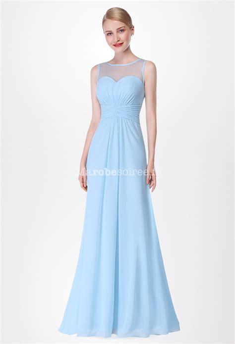 robe bleu pastel pour mariage robe de c 233 r 233 monie longue et 233 vas 233 e