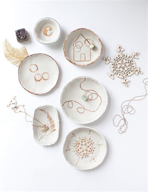imprinted clay bowls fun crafts kids