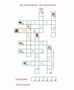 Mis En Pieces Mots Fléchés : jeu gratuit imprimer mots fl ch s des noms de fruits t te modeler ~ Medecine-chirurgie-esthetiques.com Avis de Voitures