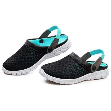 Sepatu Santai Termahal sepatu sandal slip on santai pria size 42 blue