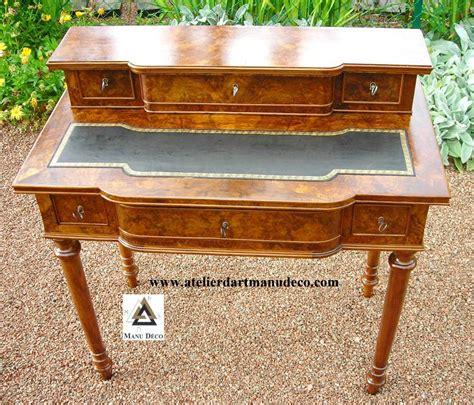 bureau à gradin maître ébéniste restaurateur de mobilier