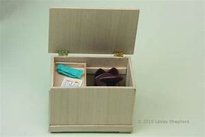 Build a Simple Wooden Chest or Riding Tack Trunk in Dolls