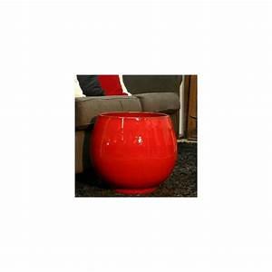 Pot En Terre Cuite émaillée : pot en terre cuite maill e bahia coquelicot d35 h38 ~ Dailycaller-alerts.com Idées de Décoration