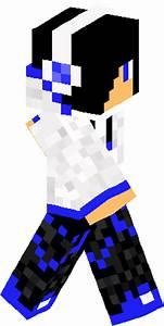 Blue Creeper Boy Skin | Minecraft Skins