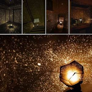 Diy four seasons star sky projection cosmos night light