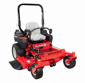 Gravely Pro-Turn 252, 52 Inch Zero Turn Ride-On Lawn Mower ...