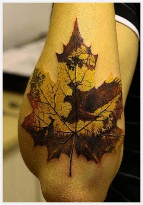 delicate leaf tattoo   body
