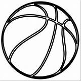 Basketball Ball Drawing Netball Sketch Template Coloring Imgarcade Credit Larger sketch template