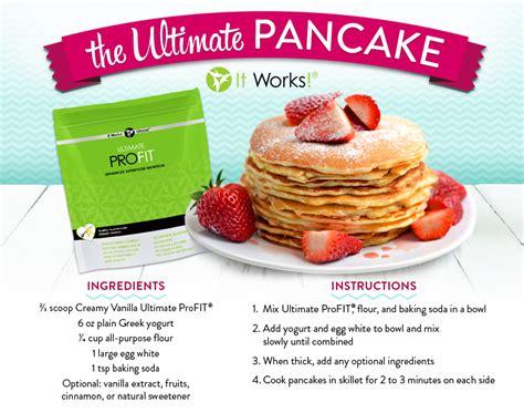 It Works ProFit Shake Recipes - It Works Body Wraps