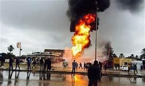 Four children killed when fuel tank truck caught fire in ...