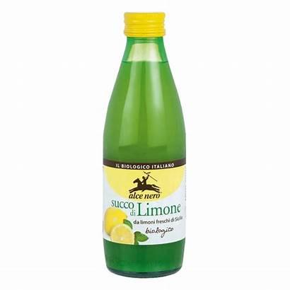 Zitronensaft Sok Bio Alce Nero Cytryn Sycylii
