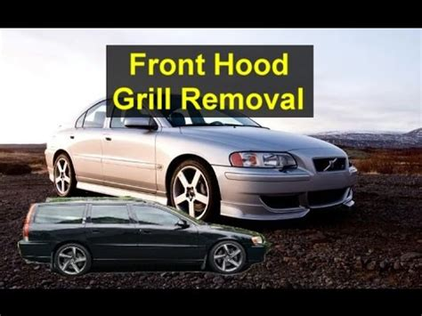 remove  volvo p grill     votd