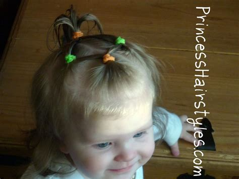 baby hairstyles 4 connecting ponytails hairstyles for