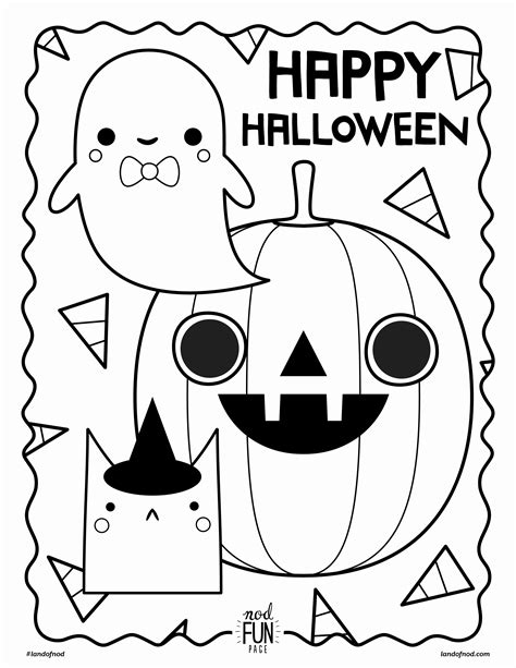 fun halloween coloring pages  getcoloringscom