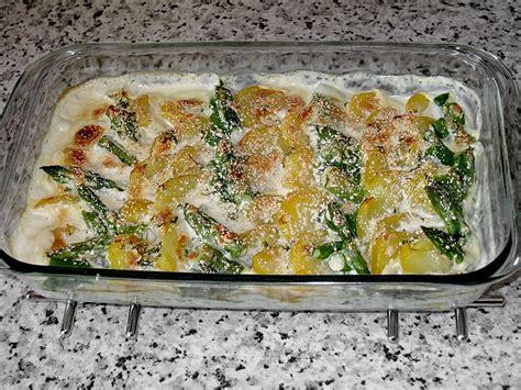 kartoffel spargel auflauf kartoffel spargel gratin rocky73 chefkoch