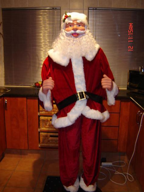 other home decor santa claus life size 1 8 mtr tall