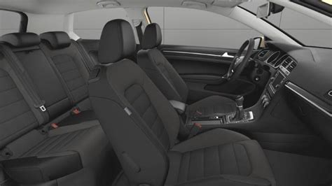 volkswagen golf  dimensions boot space  interior