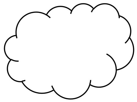 cloud  drawing clipartsco