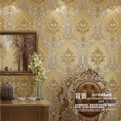 Classic Room Wallpapers by Beibehang 3d European Living Room Wallpaper Luxury