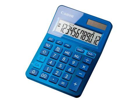 calculatrice bureau canon ls 123k calculatrice de bureau 12 chiffres
