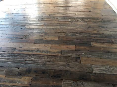 Reclaimed Heart Pine Plank Flooring Sealing & Finishing