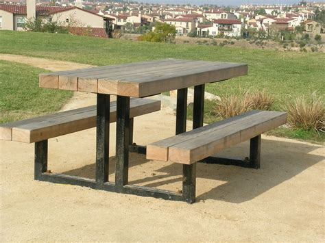 Metal Frame Picnic Table 8hu9
