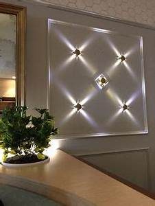 3W LED Square Wall Lamp Hall Porch Walkway Bedroom