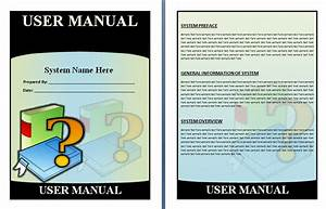 User Manual Templates