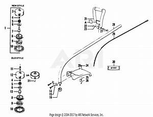 Poulan 1500 Gas Trimmer Parts Diagram For Drive Shaft Assembly