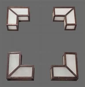 Applique D Angle : francis jourdain 1876 1958 ensemble de quatre appliques d 39 angle vers 1923 christie 39 s ~ Teatrodelosmanantiales.com Idées de Décoration