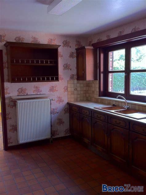 peindre cuisine chene peindre une cuisine en chene