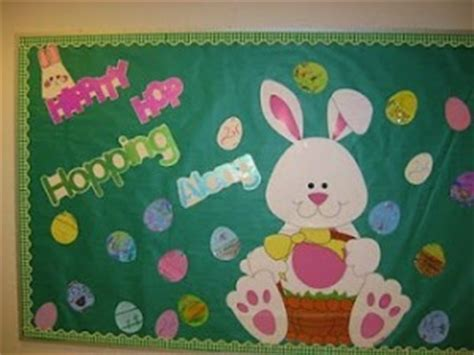 easter bulletin board for crafts and worksheets for 355 | EASTER bulletin board 1 300x225