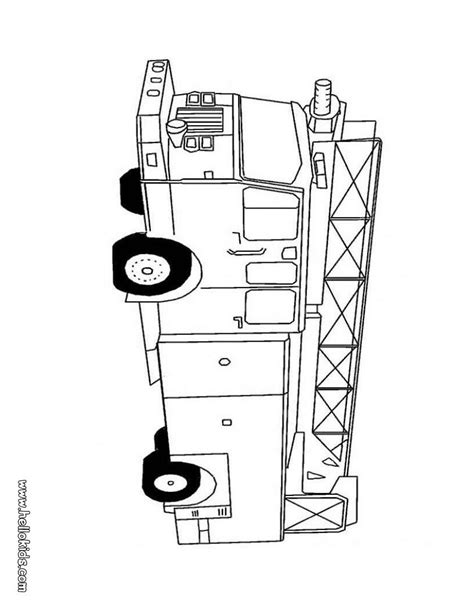 fire truck coloring pages hellokidscom