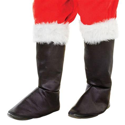 santa black boot tops mens father christmas fancy dress