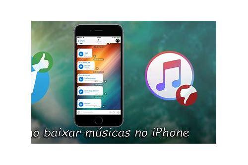 como baixar musicas de graça no iphone