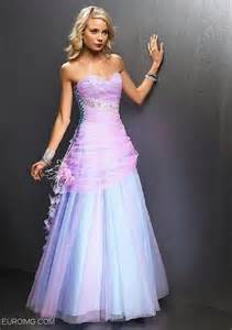 pink and blue prom dress ball gowns pinterest
