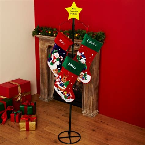 personalized holders at personal creations - Metal Stocking Holder Stand