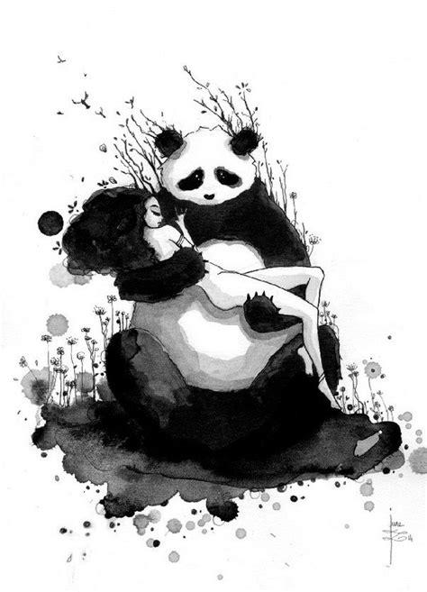 It's 'Pandamonium' June Leeloo Paints Awesome Pandas And