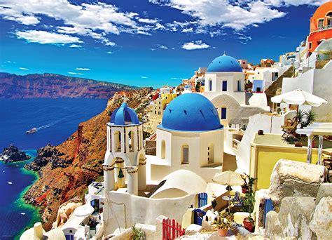 Oia Santorini Greece Jigsaw Puzzle