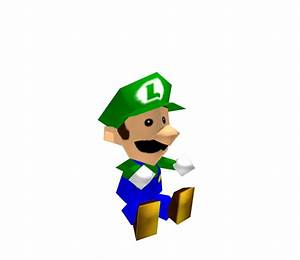 Nintendo 64 Mario Party Luigi Doll The Models Resource