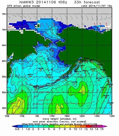 Nuri Bering Sea Alaska Weather Forecast Map