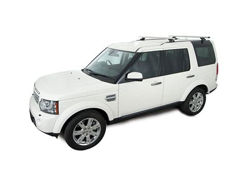 land rover lr4 silver roof rack city land rover discovery 3 4 4dr 4wd 04 05 on