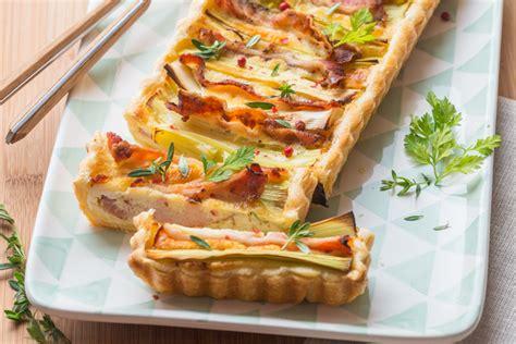 cuisine poireau tarte au poireau lard grana padano cuisine addict