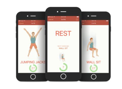 fitness apps for iphone 7 minute workout apps out of 30 tried here are the best 2087