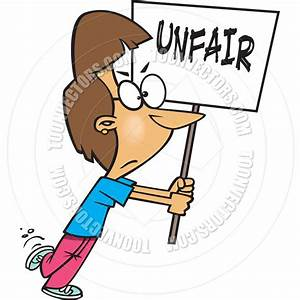 Cartoon Woman Protesting Unfairness by Ron Leishman | Toon ...